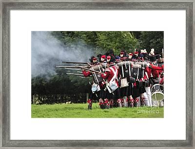 Napoleonic Battle Framed Print by Andy Smy