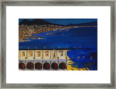 Napoli Framed Print by Gregory Allen Page
