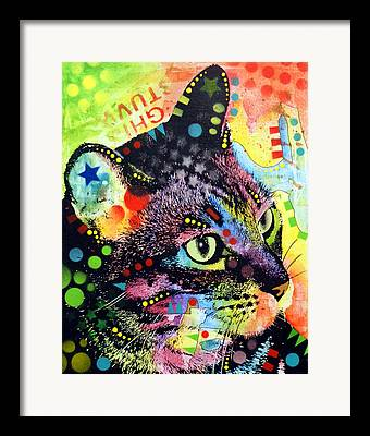 Kitty Cat Framed Prints