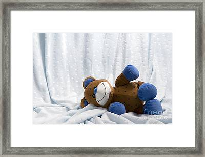 Naptime 1 Framed Print by Jeannie Burleson