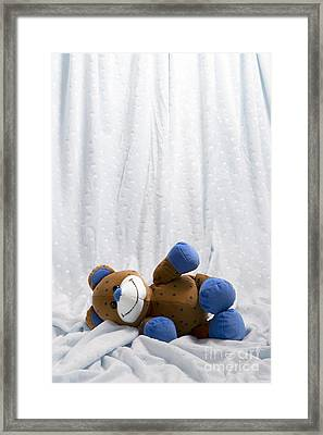 Naptime 2 Framed Print by Jeannie Burleson