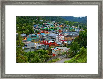 Naranjito Puerto Rico Framed Print by Ukeim Ortiz