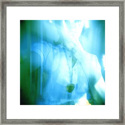 Narcissist Framed Print by Erin O