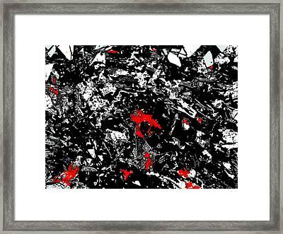 Narcissistic Injury Framed Print by Ricardo Mester