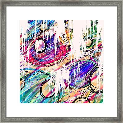 Narcotics Of The Mind Framed Print by Rachel Christine Nowicki