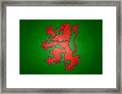 Narnia Coat Of Arms Framed Print