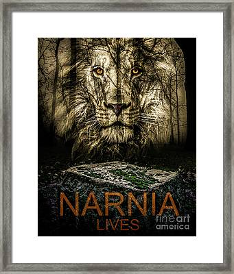 Narnia Lives Framed Print