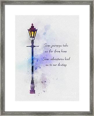 Narnia Framed Print by Rebecca Jenkins