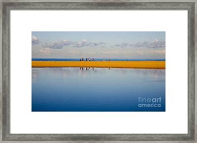 Narrabeen Dunes Framed Print by Sheila Smart Fine Art Photography