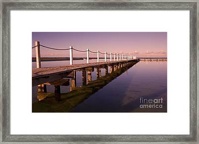 Narrabeen Sunrise Framed Print by Sheila Smart Fine Art Photography