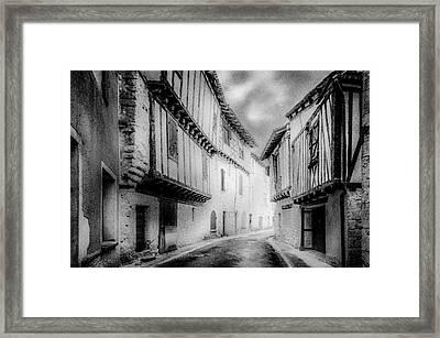 Narrow Alley Framed Print
