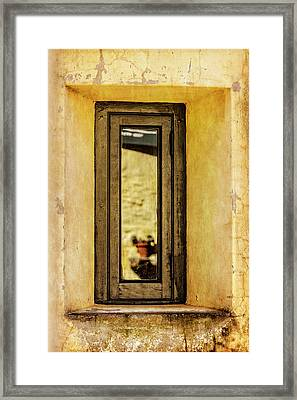 Narrow Reflections Framed Print