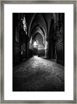 Narthex Framed Print