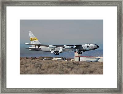 Nasa Boeing Nb-52b Stratofortress With Hyper X Framed Print