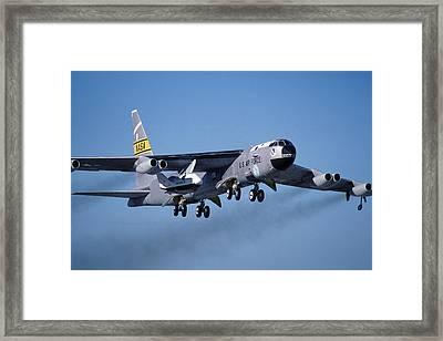 Nasa Boeing Nb-52b Stratofortress With X-38 Crew Return Vehicle Framed Print