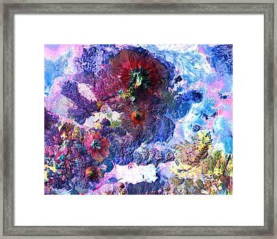 Nasa Image-andes Mts., Chile - Bolivia-2  Framed Print