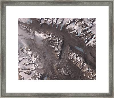 Nasa Image-dry Valleys, Antarctica-2 Framed Print