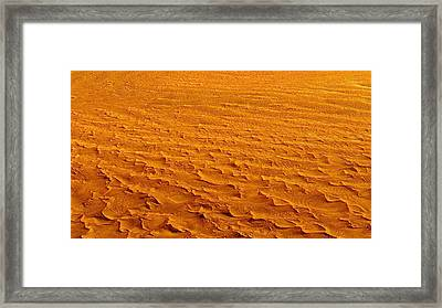 Nasa Image-namib-naukluft National Park-3  Framed Print