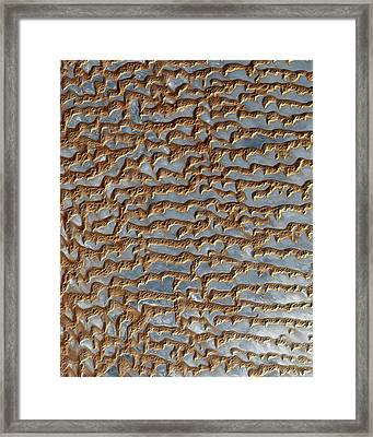 Nasa Image-rub' Al Khali, Arabia-2 Framed Print