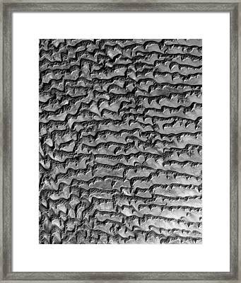 Nasa Image-rub' Al Khali, Arabia-3 Framed Print