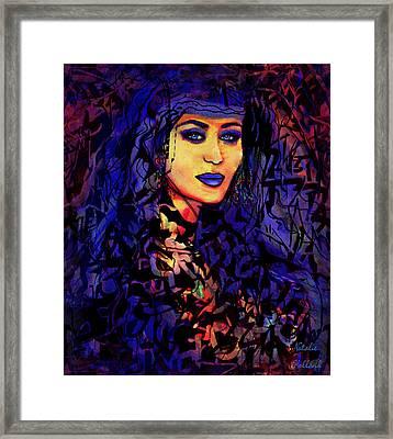 Nasaria Framed Print by Natalie Holland