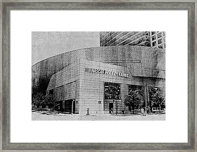Nascar Hall Of Fame 2 Framed Print