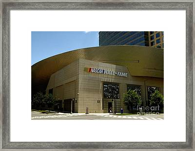 Nascar Hall Of Fame Framed Print