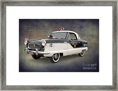 Nash Metropolitan By Darrell Hutto Framed Print by J Darrell Hutto
