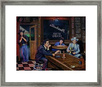 Nashville After Hours Framed Print