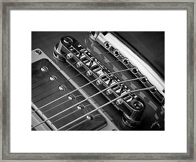 Nashville Bridges Framed Print