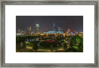 Nashville  Framed Print