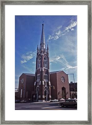 Nashville Church Framed Print by Randy Muir