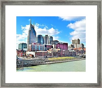 Nashville Eight By Ten Framed Print