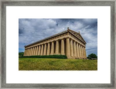 Nashville Parthenon Framed Print