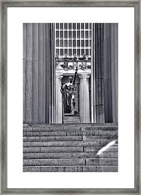 Nashville Spirit Of Youth Framed Print by Dan Sproul
