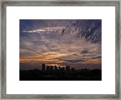 Nashville Sunrise - 2 Framed Print by Randy Muir