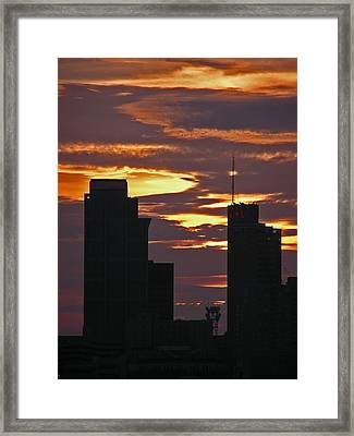 Nashville Sunrise - 3 Framed Print by Randy Muir