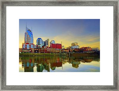 Nashville Tennessee Framed Print by Steven  Michael