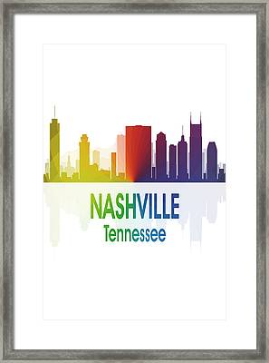 Nashville Tn 1 Vertical Framed Print