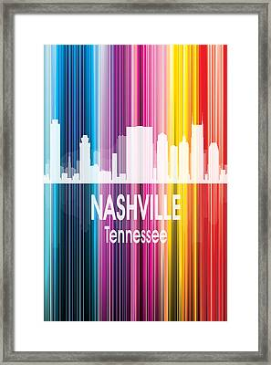 Nashville Tn 2 Vertical Framed Print