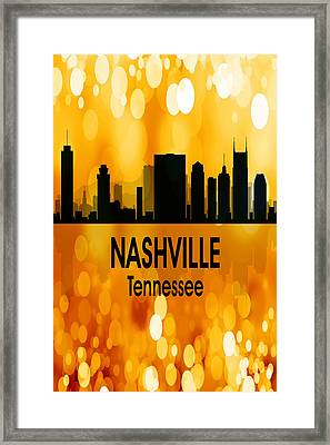 Nashville Tn 3 Vertical Framed Print