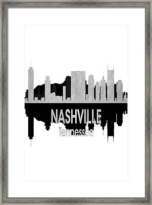 Nashville Tn 4 Vertial Framed Print