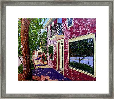 Nashville Upside Down Framed Print by Stan Hamilton