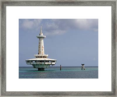 Nassau - Coral World Redux Framed Print