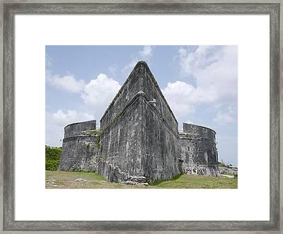 Nassau - Fort Fincastle Framed Print by Richard Reeve