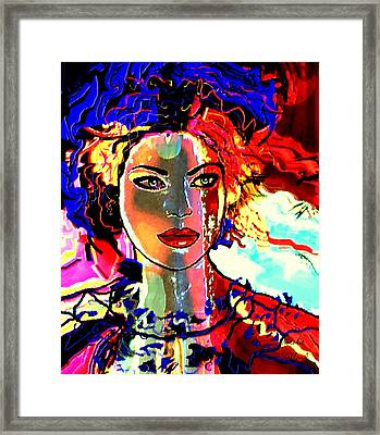 Natalie Holland Portrait Framed Print