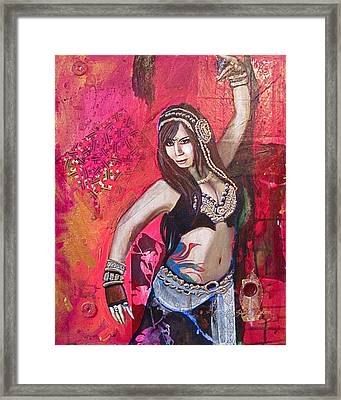 Natalie Phoenix Framed Print by Stephanie Bolton