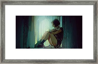 Natalie Portman  Framed Print