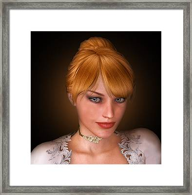 Natasha Framed Print by David Griffith