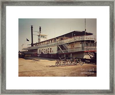 Natchez Framed Print by John Edwards
